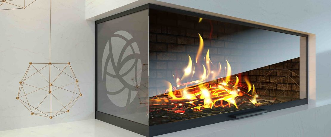 In the manufacture of fire-resistant glass, AERODISP® serves as a dispersion which, in the event of a fire, forms a radiant heat barrier and maintains the glass transparency.