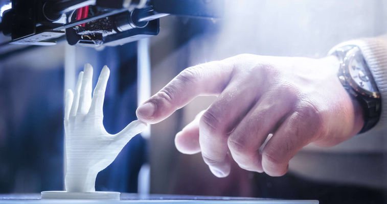 In 3D printing Evonik silica provide free flow, anti-caking and electrostatic charge control for SLS and SLA as well as viscosity control over jetting systems and density control in power packing.