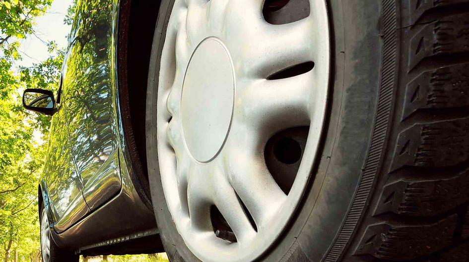 Silica in tire.