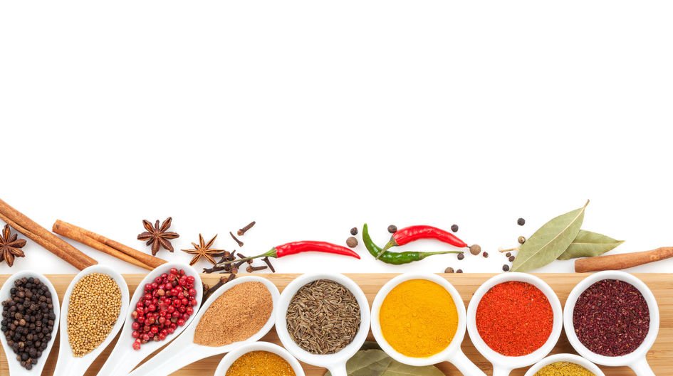 Anti caking agent for spices